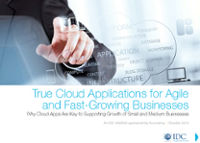 Ebook True Cloud Applications for Agile and Fast Growing Business